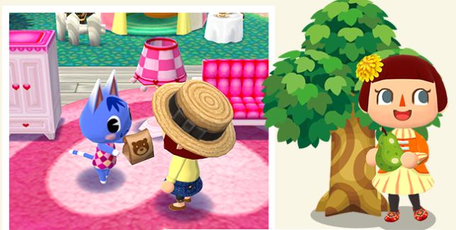Animal Crossing : Pocket Camp.