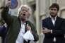 Beppe Grillo à Rome, le 25 octobre.