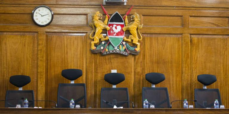 La Cour suprême kényane, le 25 octobre 2017.
