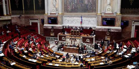 L'Assemblée nationale, le 25 octobre.