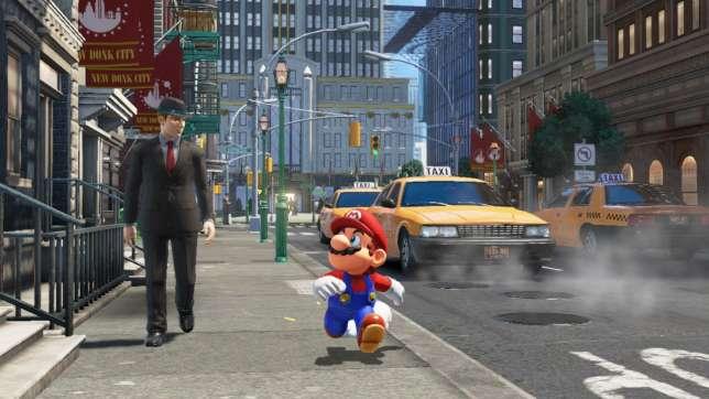 Image rare de Mario demandant à un analyste financier s'il pense encore vraiment que Nintendo va mourir.