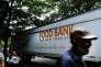 Distribution de nourriture dans le Bronx, un des cinq arrondissements de la ville de New York, le 28 juin.