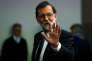 Mariano Rajoy à la Moncloa, le siège du gouvernement espagnol, à Madrid, le 21 octobre.
