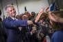Laurent Wauquiez en meeting de campagne pour la présidence du parti Les Républicains, à Mandelieu-La Napoule (Alpes-Maritimes), le 25 octobre.