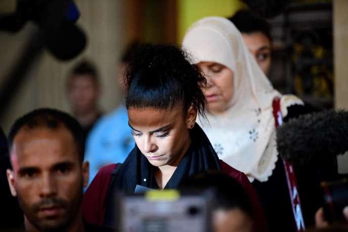 La famille de Mohammed Legouad, victime de Mohamed Merah, à la cour d'assises de Paris, le 2 octobre.