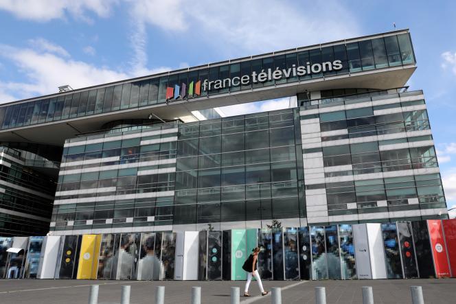 Le siège de France Télévisions, à Paris, le 4 septembre.