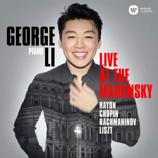 Pochette de l'album« Live at The Mariinsky», deGeorge Li.