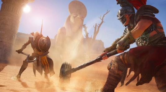 Au nom de l'intérêt du joueur, Ubisoft a rajouté des arènes et des gladiateurs dont la présence en Egypte reste à prouver.