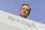 Le président de la Banque centrale européenne au siège de la BCE à Francfort (Allemagne), le 26 octobre.