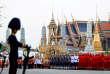 Le coût des funérailles, en hommage au roi Bhumibol Adulyadej, décédé en octobre 2016, est estimé à plus de 76 millions d'euros.