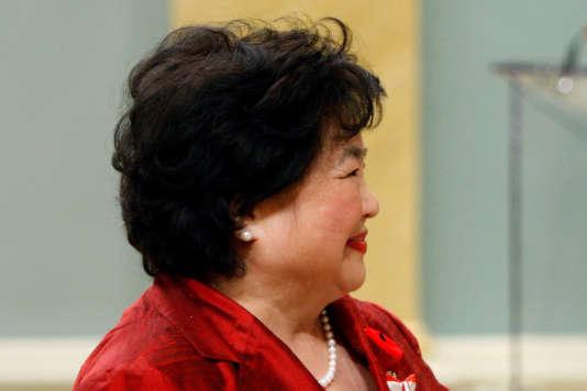 Setsuko Thurlow est ambassadrice de l'ICAN.