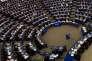 Réunion du Parlement européen, à Strasbourg, le 25 octobre.