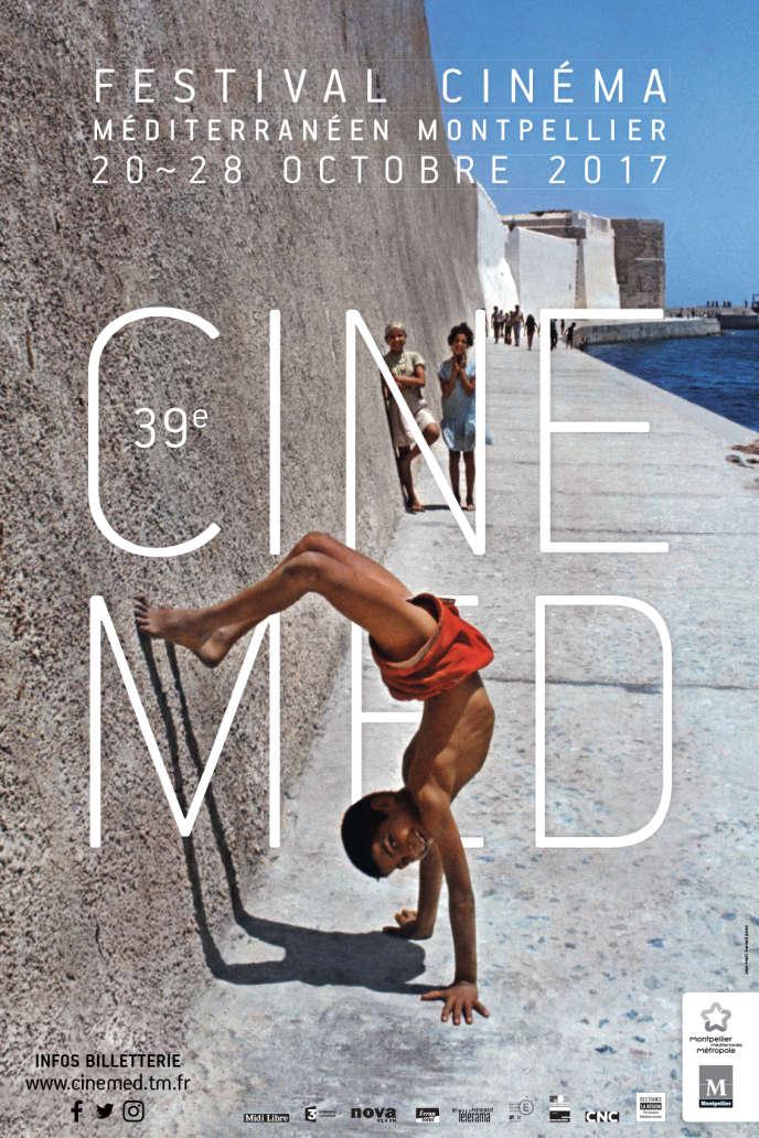 Affiche de l'édition 2017 du Festival du cinéma méditerranéen de Montpellier.