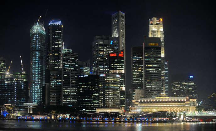 Vue de Singapour.