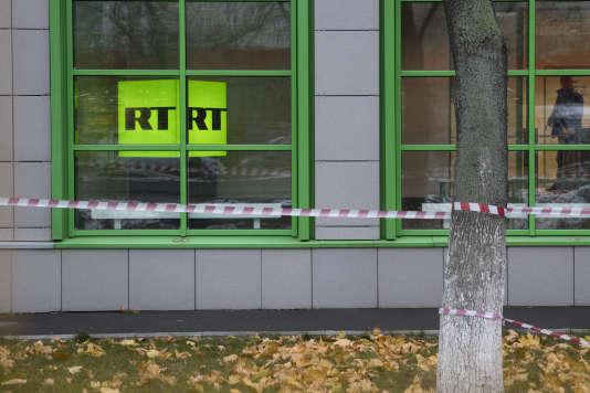La chaîne de télévision russe RT doit s'inscrire comme« agent de l'étranger» aux Etats-Unis, elle a jusqu'à lundi pour se soumettre à la loi américaine.