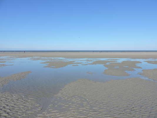 La plage de Quend, dans la baie de Somme.