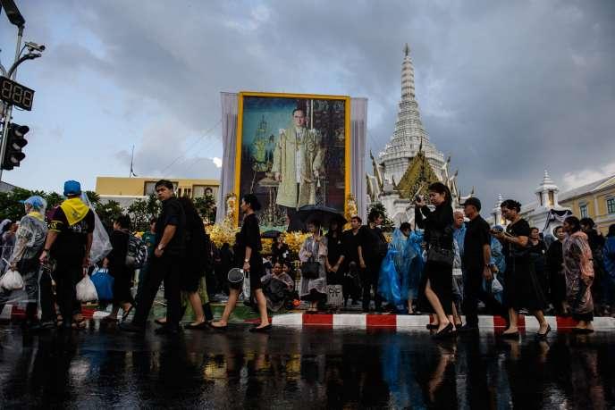A Bangkok, jeudi 26 octobre.