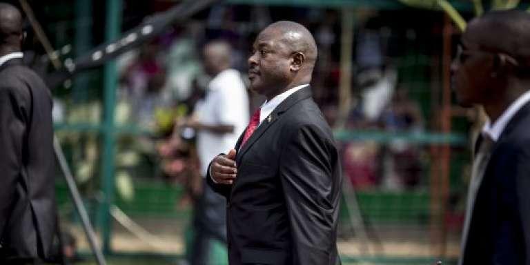 Le président burundais, Pierre Nkurunziza, à Bujumbura, en juillet 2015.