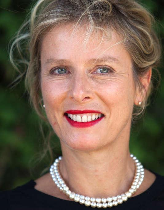 Karin Viard à Angoulême, le 28 août 2016.