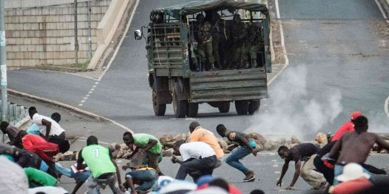 Des affrontements se sont déroulés, le 27 octobre, à Kisumu, dans l'ouest du Kenya, entre manifestants et forces de maintien de l'ordre.