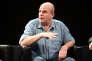 Le journaliste américain David Simon sur la scène du Tribeca Film Festival, à New York, le 24 avril 2014.