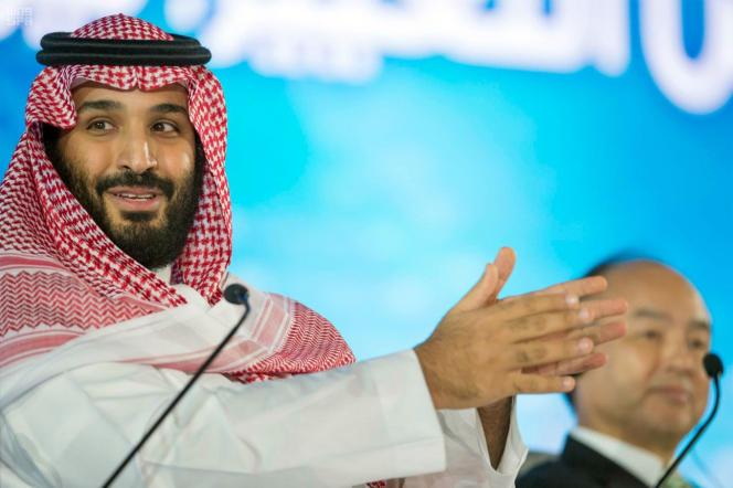 La commission, qui a ordonné les interpellations, est dirigée par le prince héritier Mohammed Ben Salman (ici à Riyad, le 24 octobre).