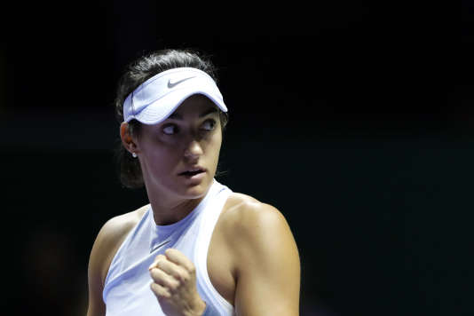 La française Caroline Garcia s'est inclinée samedi face à Venus Williams.