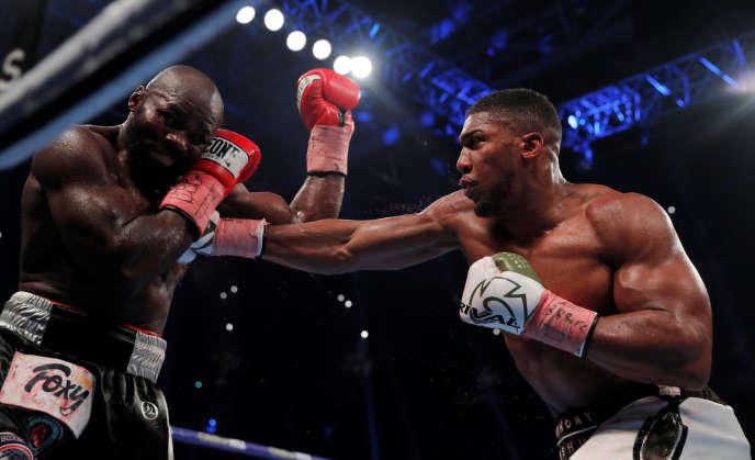 Boxe : pas de miracle pour Carlos Takam face à Anthony Joshua
