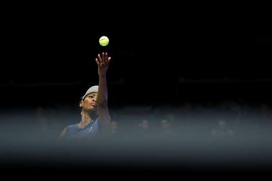 Venus Williams lors de son match contre Caroline Garcia.