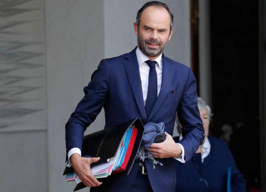 Le premier ministre, Edouard Philippe, à l'Elysée, le 25 octobre.