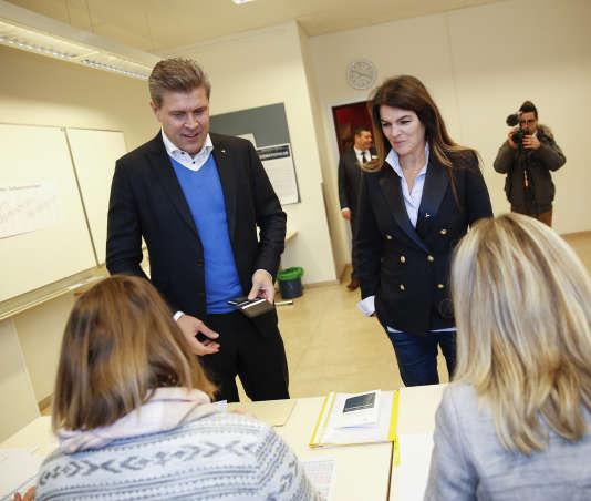 Bjarni Benediktsson n'est premier ministre que depuis le début de l'année.