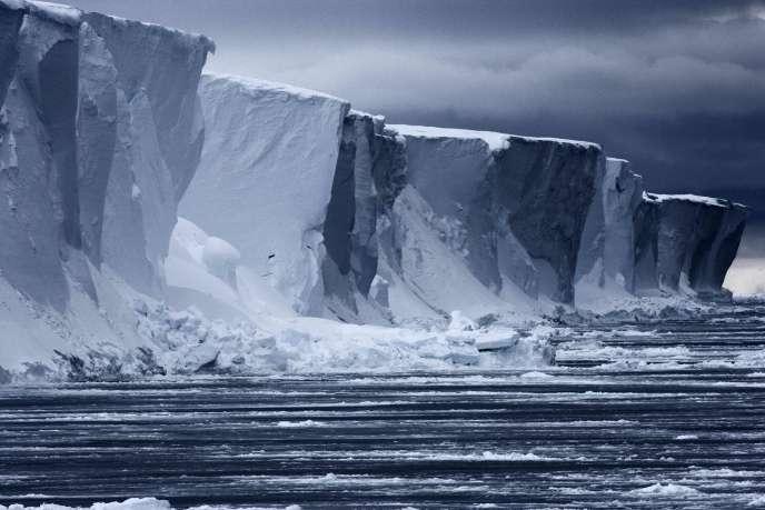 Dans l'Antarctique, le 28 octobre.