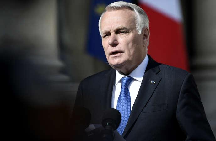 L'ancien premier ministre Jean-Marc Ayrault (ici, le 26 avril 2017 à l'Elysée) est membre de laFondation Jean-Jaurès depuis décembre2014. Il pourrait prendre du galon lors du prochain conseil d'administration, prévu le 13décembre.