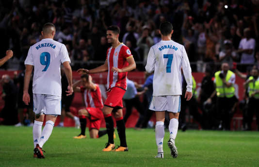 Le Real Madrid est tombé (2-1) à Gérone, dimanche 29 octobre.