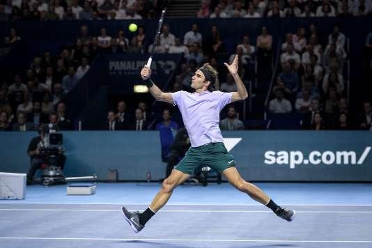 Rogert Federer a remporté le tournoi de Bâle, dimanche 29 octobre.