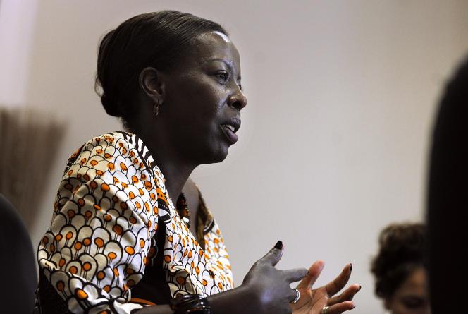 Louise Mushikiwabo, la chef de la diplomatie rwandaise, en 2011.