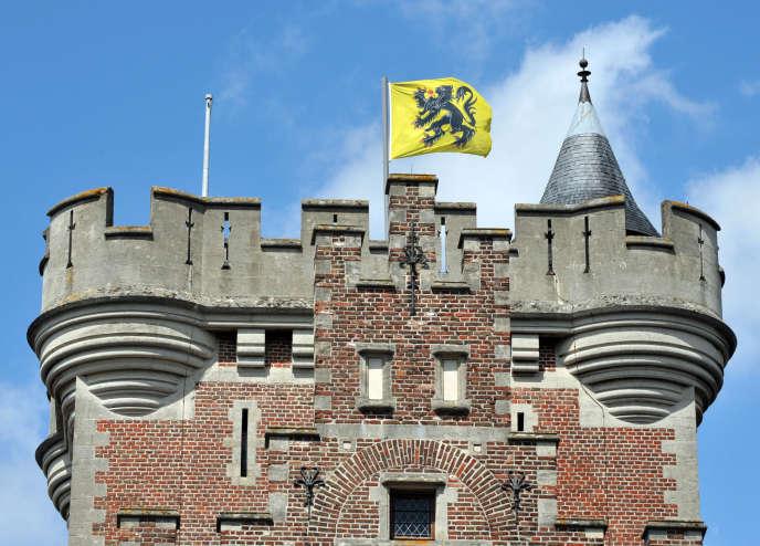 Au château de Gaasbeek, en Flandre.