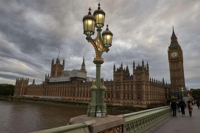 Westminster, le siège du Parlement britannique, à Londres.