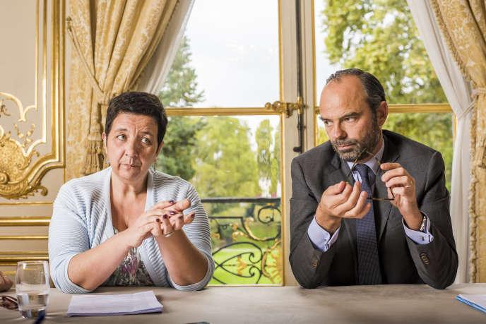 La ministre de l'enseignement supérieur, Frédérique Vidal, et le premier ministre, Edouard Philippe, à Matignon.