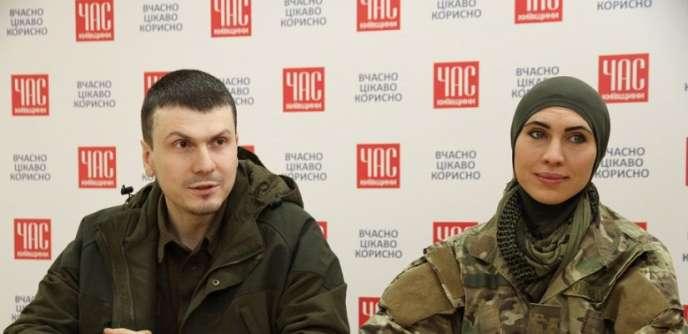 Adam Osmaïev et Amina Okouïev.