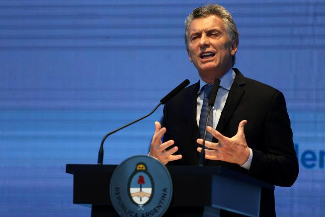 Le président argentin, Mauricio Macri, a annoncé son programme économique pour les deux à venir dans un discours prononcé, au centre Kirchner à Buenos Aires, le 30 octobre.
