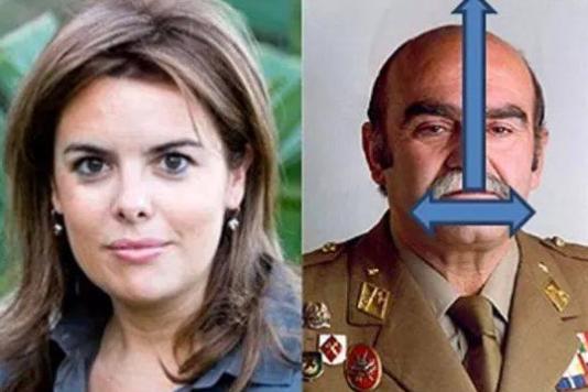 Soraya Saenz de Santamaria, a été nommée à la tête de la Catalogne, vendredi 26octobre, à la place de Carles Puigdemont.