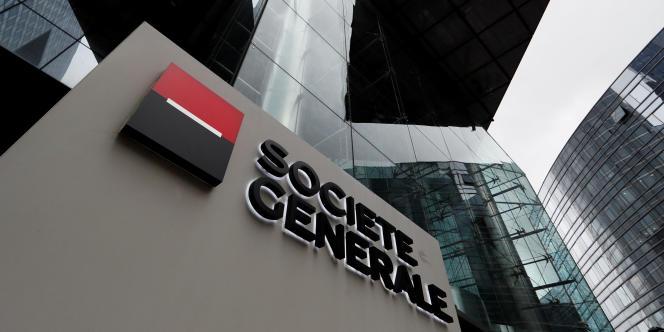 Le siège de la Société générale, à La Défense.