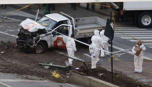 Une attaque à la camionnette fait 8 morts à New-York