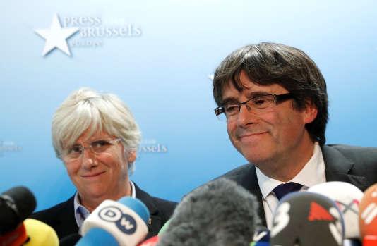 L'ancienne ministre de l'éducation catalane, Clara Ponsati.