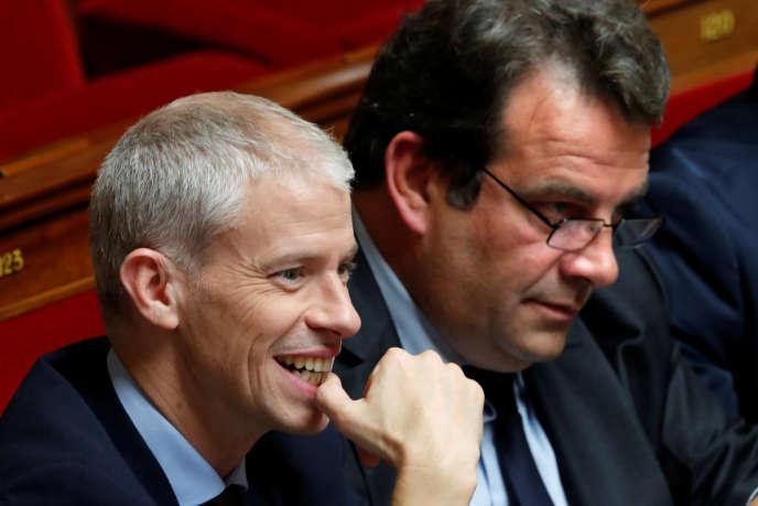 Franck Riester a fondé un nouveau parti, Agir, alors que Thierry Solère a rejoint La République en marche.