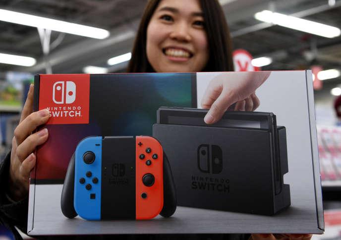 Nintendo a lancé sa nouvelle console Switch en mars.