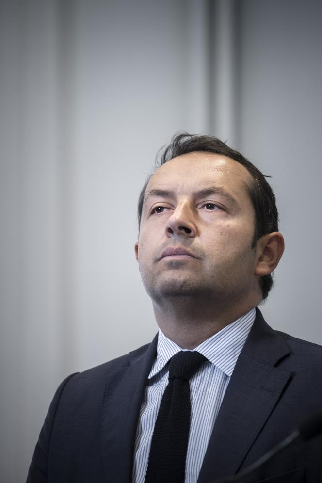Sébastien Chenu, à l'Assemblée nationale, le 25 septembre.