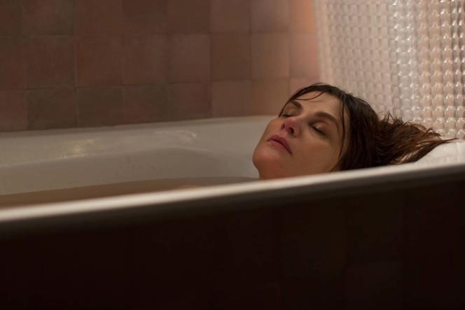 Emmanuelle Seigner dans le film de Roman Polanski,« D'après une histoire vraie ».