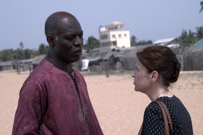 Eriq Ebouaney et Sandrine Bulteau dans«L'Orage africain».
